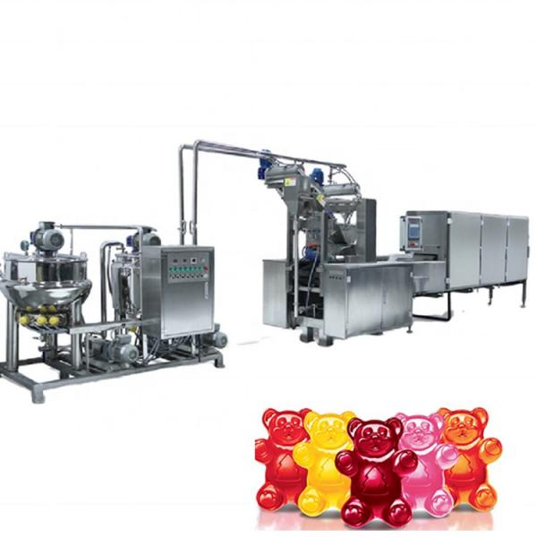 Jelly candy production line with dependable performance, durable gummy candy machines