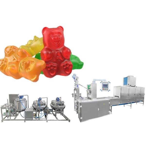 2020 new style high production high efficiency automatic small soft candy gummy maker deposit machine