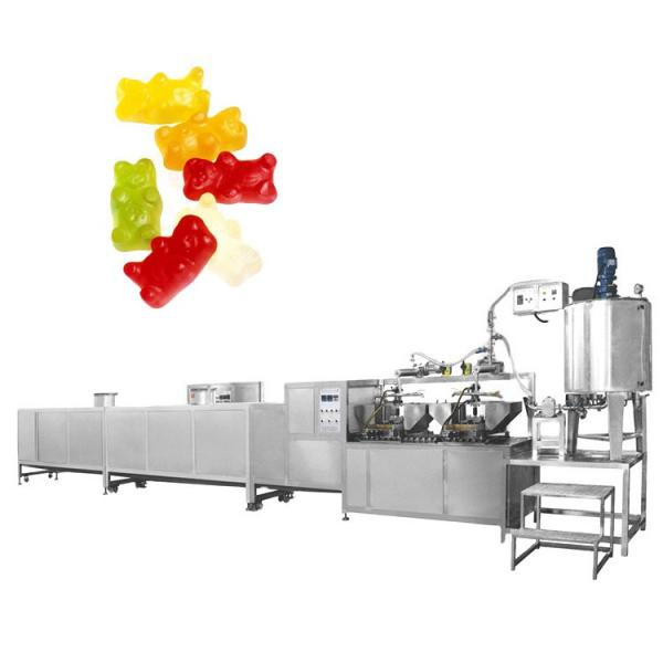 automatic small capacity jelly candy depositing making machines gummy bear candy forming production line sweets machine maker