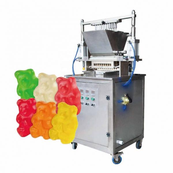 Automatic Mini Hard Candy Forming Machine Ball Sweet Lollipop Candy Depositing Making Machines Confectionery Production Line