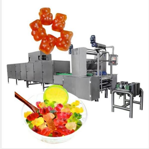 Jelly Fruit Candy Machines Fully Automatic Jelly Bean Line Equipped with Continuous Vacuum Cooking Candy Machine Gummy Machine with Ce (GDQ150)