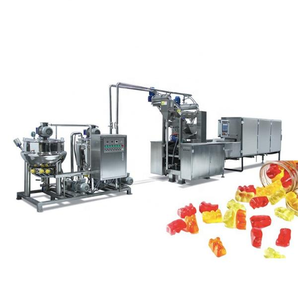 Big capacity Multi-function Gummy Candy Jelly soft candy production line Fully automatic gummy bear making machines
