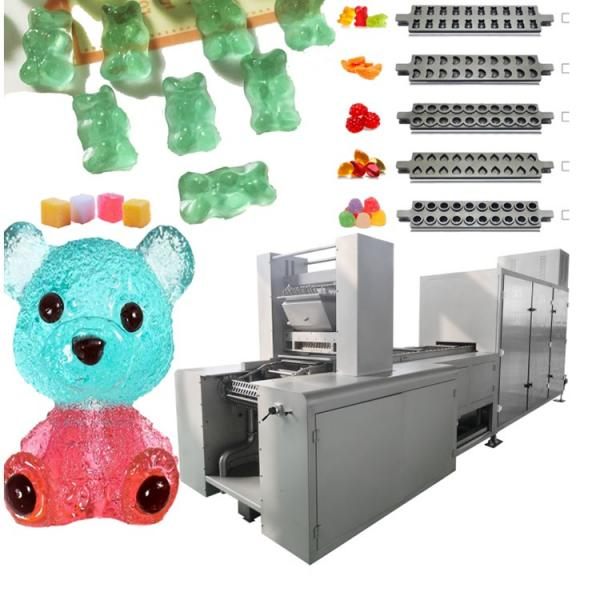 New design Electric new model party 40W gummy bear worm fish soft candy maker