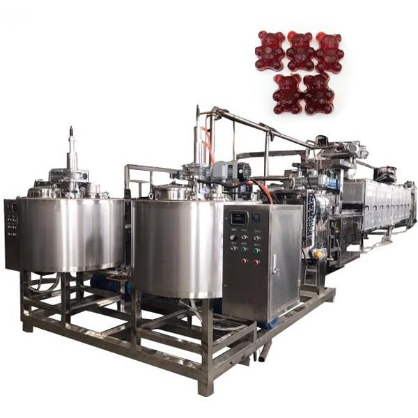 Best selling Agar candy depositor equipment carrageenan soft bear forming making machine double color gummy maker machinery